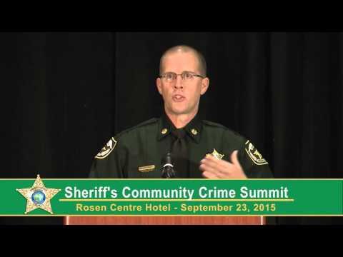 Sheriffs Community Crime Summit Police Body Cameras