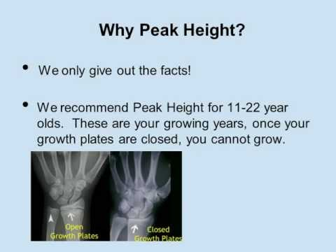Peak Height Maximizer - #1 Doctor Recommended Grow Taller Pill - Height Supplement