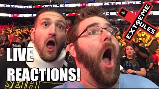 INSANE LIVE REACTIONS TO WWE EXTREME RULES 2016 PPV