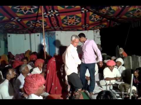 Marwadi Desi Bhajan Omji Kumawat And Manoj Kumawat Bilada At Choundaya By Bharath Kumawat Hyderabad video