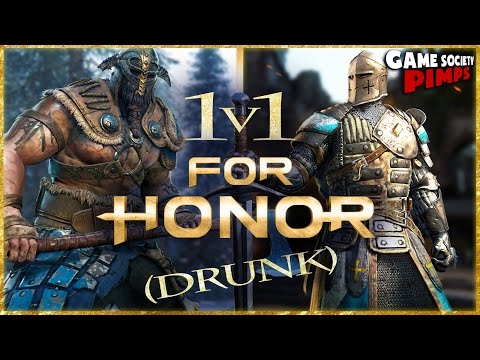 "(Early Access) ""For Honor"" 1V1 Drunk Comedy Game Play in 4K!"