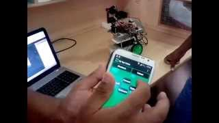 Final Year Project: Android Application Controlled Robot with Face Detection