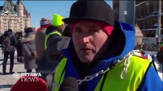 United We Roll Convoy Report from CBC Ottawa
