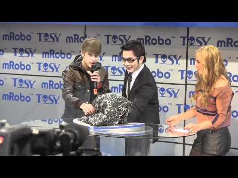 Humanoid Robot Dancing With Justin Bieber – HOT!!!