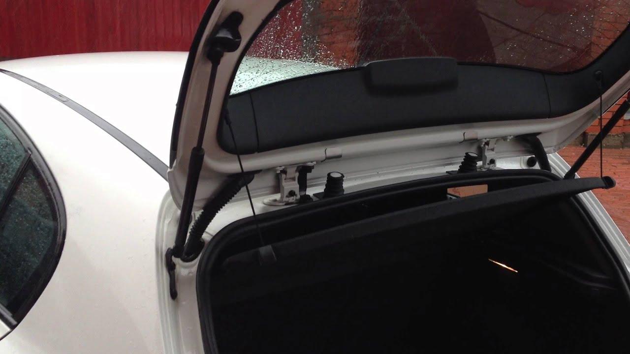 Автоматическое открывание багажника на