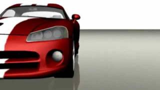 3ds max dodge viper drifting