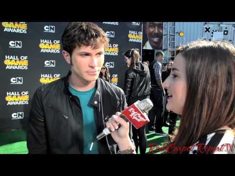 Toby Turner at Cartoon Network's 3rd Annual Hall of Game Awards @TobyTurner #hallofgameawards