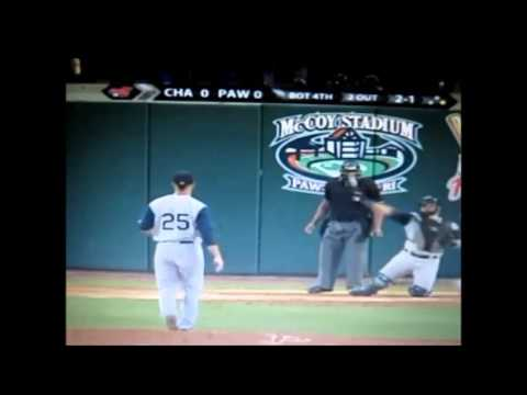 Andre Rienzo - Charlotte Knights x Pawtucket Red Sox - Tripple - A