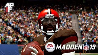 MADDEN 19 THOUGHTS WHILE PLAYING  APF 2K8 (NYG @ CLE)