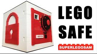 Huge LEGO safe