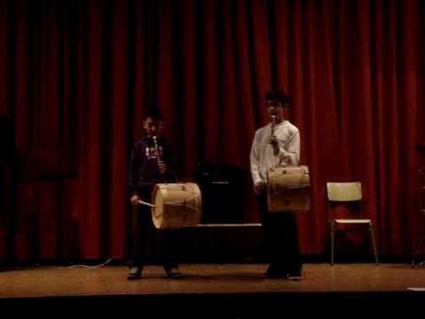 Enrique Conde y Javier Sánchez. Adelaida flauta y tamboril 7º Festival Río Duero 22 12 09