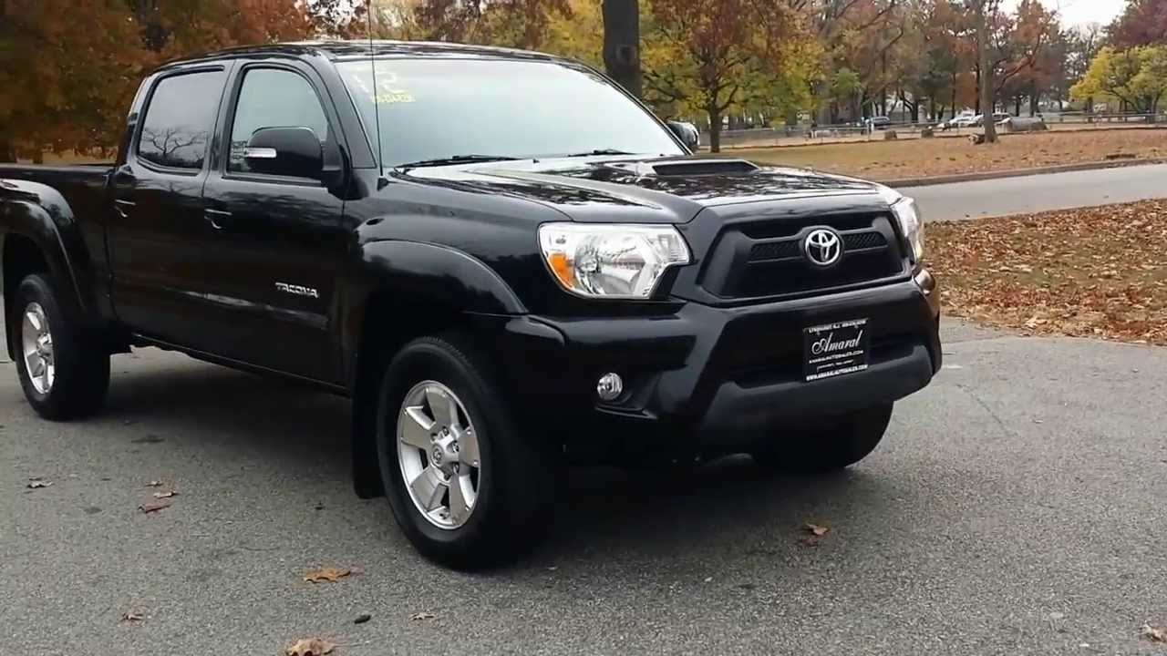 Used 2012 Toyota Tacoma With Trd Sports Package For Sale