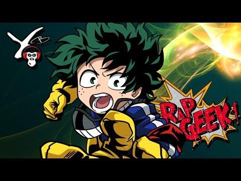 RAP Anime #33 | Rap do Izuku Midoriya (Boku no Hero Academia) Beat:Shuka4Beats | Yuri Black