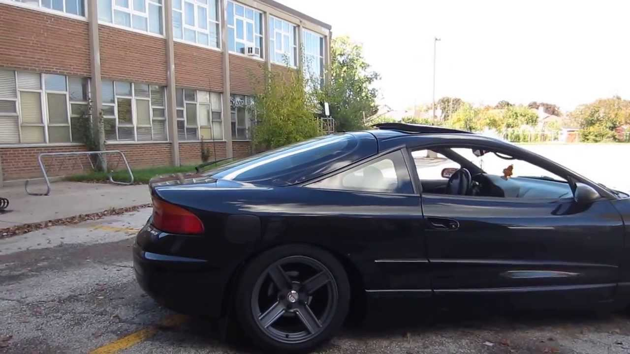 Stanced eagle talon youtube