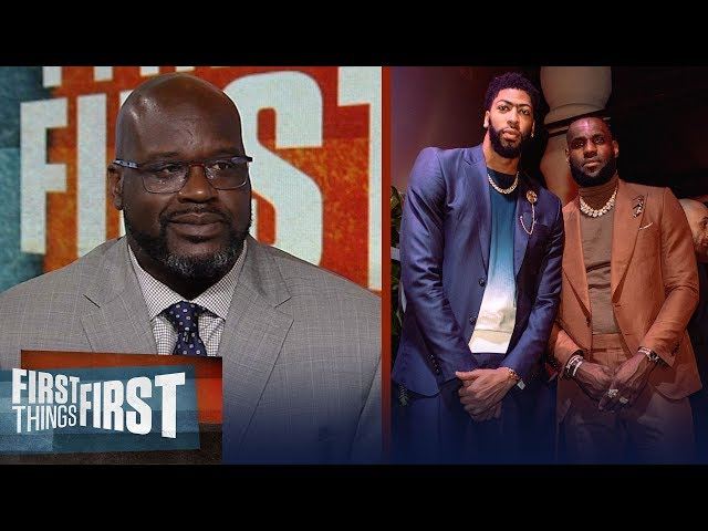Shaq disagrees LeBron - AD are the best duo, talks state of the Lakers | NBA | FIRST THINGS FIRST thumbnail