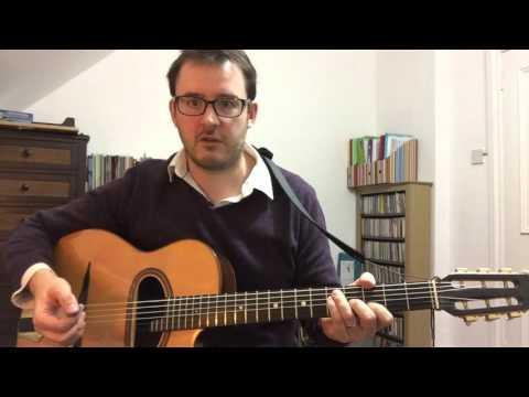 Swing Rhythm Guitar Basics