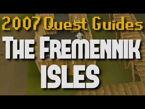 Runescape 2007 Quest Guides: The Fremennik Isles