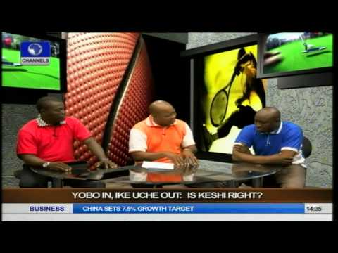 2014 W.Cup: Was It Right For Keshi To Drop Yobo, Ike Uche? Pt.1