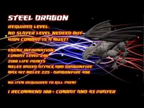 Runescape Steel Dragon Slayer Assignment Guide HD