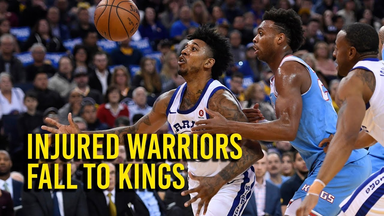 Injured Warriors fall to Kings 98-93
