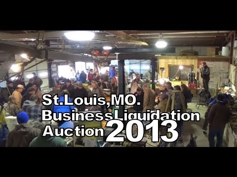 St. Louis Business Liquidation Auction 2013