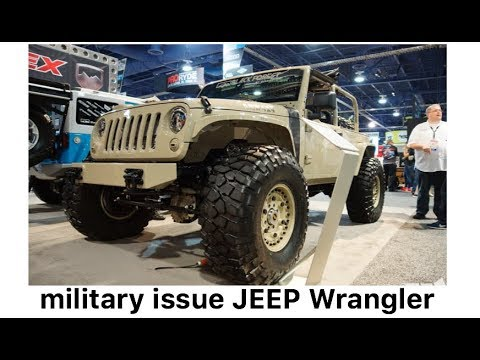 authentic Jeep J8 mil-spec diesel Wrangler and other products by Black Forest Gear