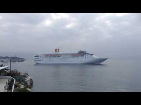Cruising ship ''Costa Classica'' in Split , Croatia
