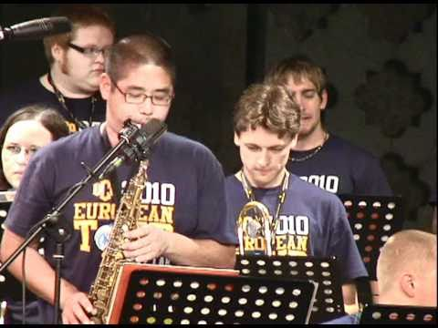 Rejoice - UCO Jazz Ensemble at the Umbria Jazz Festival 2010