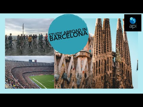 Study abroad in Barcelona with API