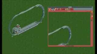 Fastest RCT2 Coaster at 609 mph/ 272.24 m/s