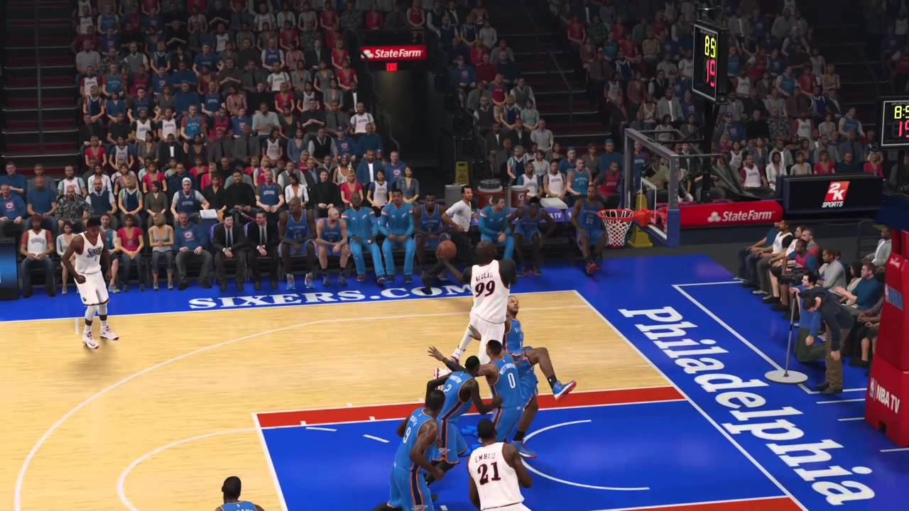 Alley Oop 2k15 Alley-oop Pass Nba 2k15