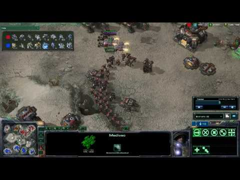 HD Starcraft 2 PredY v fiRstaNdLast p3/5 Video