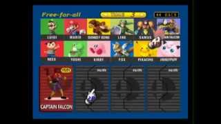 Super Smash Bros U64 -Trailer Game Mod (DOWNLOAD)