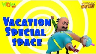 Motu Patlu Vacation Special - Space - Compilation - As seen on Nickelodeon