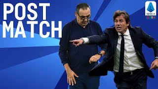 Inter 1-2 Juventus | Sarri & Conte Post Match press Conference | Serie A