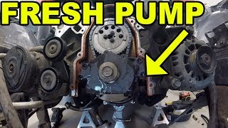 240SX LS1 New Oil Pump and Timing