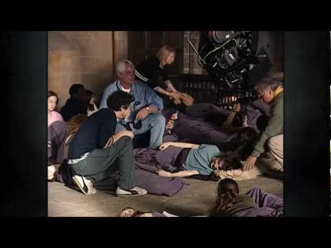 Alan Rickman and Michael Gambon prank Daniel Radcliffe!