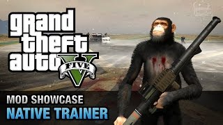 GTA 5 PC - Native Trainer [Mod Showcase]