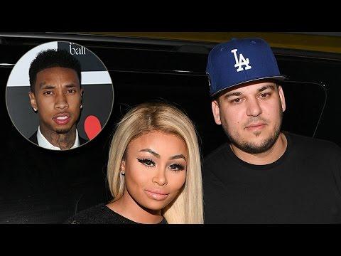 Tyga's Surprising Reaction To Blac Chyna & Rob Kardashian's Engagement