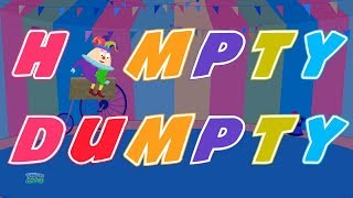 Humpty Dumpty Sat On A Wall | Nursery Rhymes Song For Children By Toddler Toons