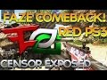 FaZe Red 12 Win Streak, Censor Exposed, Crimsix Leaving OpTic? - Red Scarce