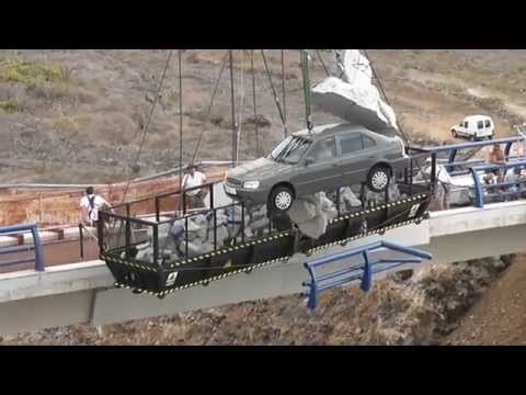 Fast And Furious 6 Shooting In Tenerife Bridge Scene 09 24 12 video