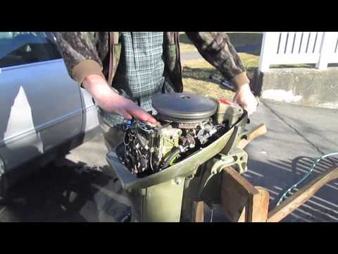 Modified 15hp Johnson Outboard Spring '13 Test Run
