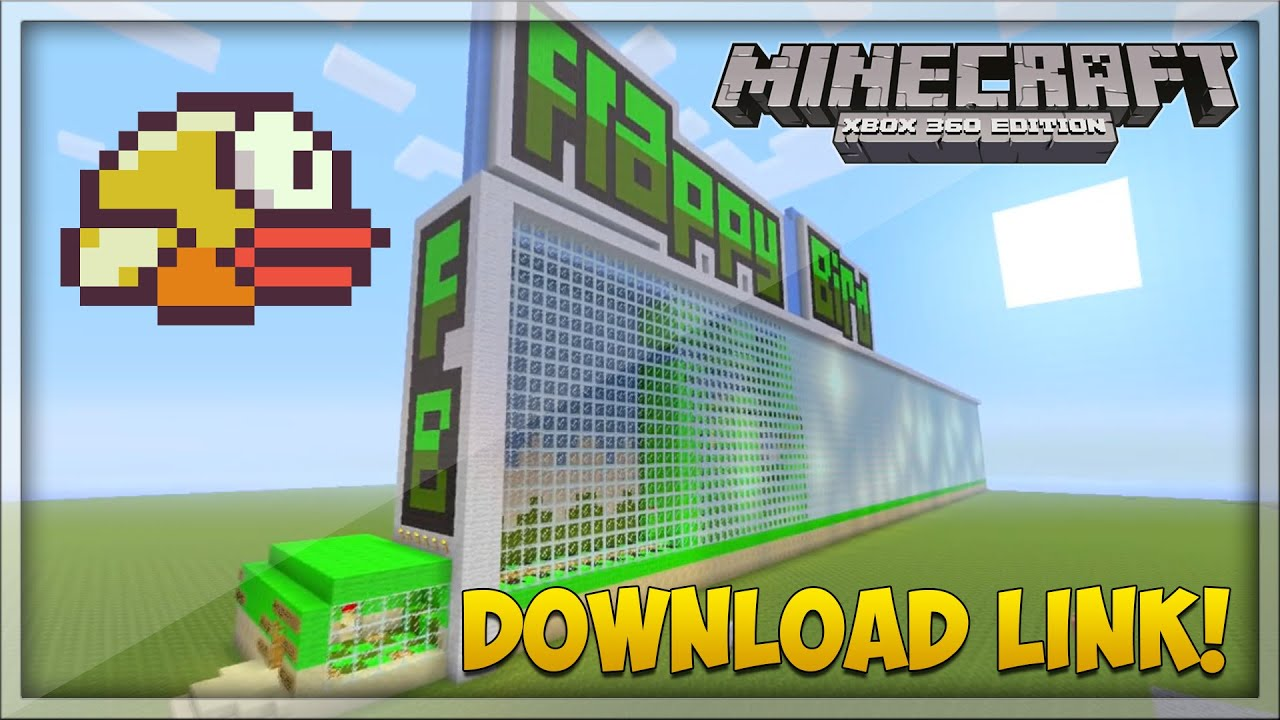 Minecraft Xbox 360: Flappy Bird Parkour Map! - Download ...