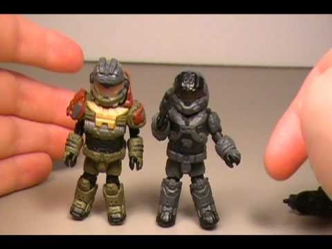 Halo Minimates Carter Halo Minimates Jorge And