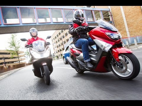 Honda PCX125 vs Yamaha NMAX - Scooter Review
