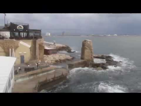 A walking tour on the Southern Ramparts of Acre (Akko), Israel