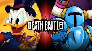 Scrooge McDuck VS Shovel Knight | DEATH BATTLE!