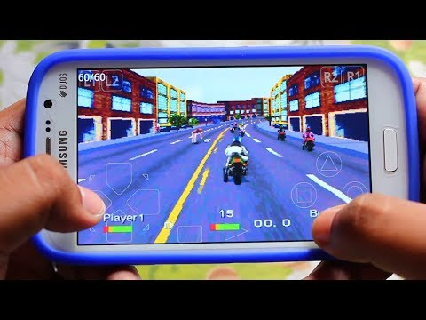 Road Rash on Samsung Galaxy Grand