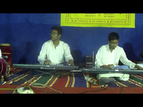 Baradwaj & Mukunth Performing Lalgudi Sir's Thillana In Desh On Keyboard video